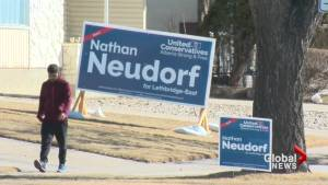 Final day of election campaign in Lethbridge
