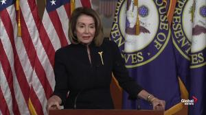 Pelosi threatens Trump on setting precedent for National Emergencies