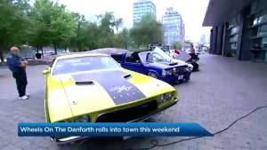 Wheels on the Danforth rolls into town