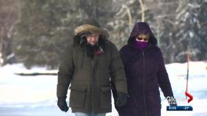 How are Edmontonians coping with the extreme cold?
