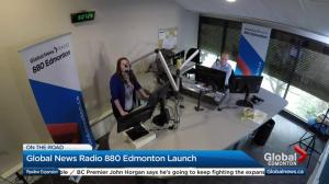 Global News at 5 Edmonton celebrates launch of Global News Radio 880 Edmonton