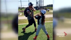 Ashlynn Jolicoeur returns from U.S. all-girls baseball tournament