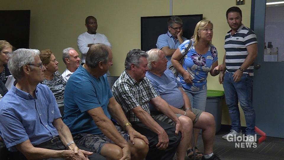 Saint-Leonard residents blast borough mayor about repeated flash floods at heated meeting