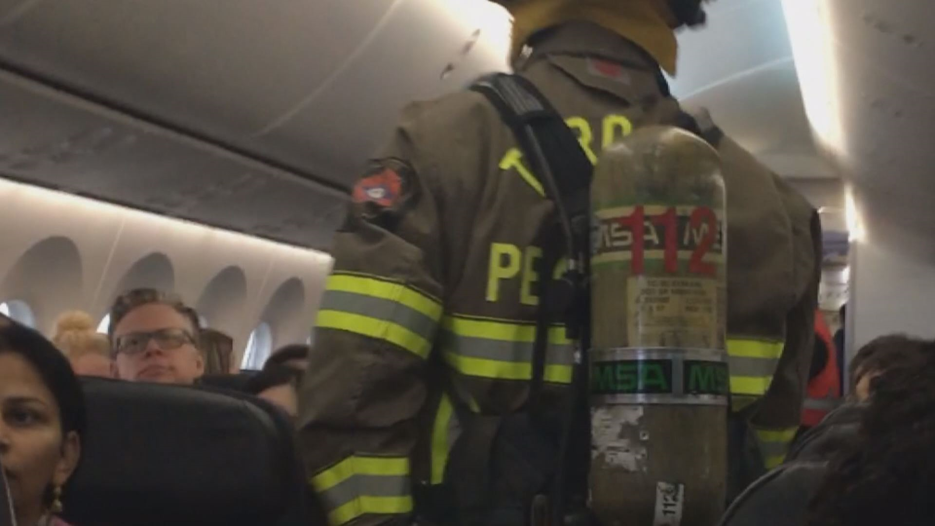 Passenger burned in cellphone fire on Air Canada flight in Toronto