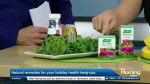 Natural remedies for your holiday health hangups