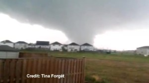 Raw video:  Tornado hits Angus
