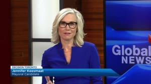 Jennifer Keesmaat says John Tory has not acted to reduce congestion