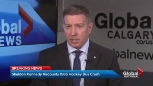 Former NHL player Sheldon Kennedy on Humboldt Broncos bus crash
