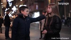 Boys refuse to slap girl in viral video