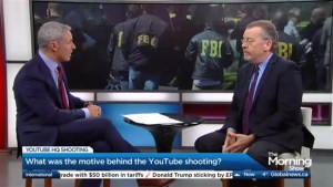 What was the motive behind the YouTube shooting?