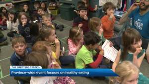 BC kids take on the Great Big Crunch for healthy foods in school