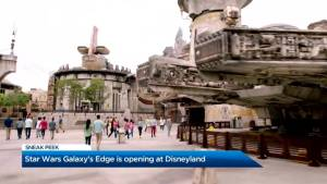 First look at Disneyland's new 'Star Wars: Galaxy's Edge'