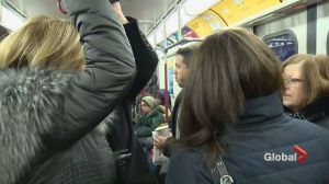 Relief kits handed out amid overcrowding on TTC's Line 1 subway line