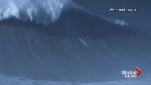Brazilian sets all-time record for biggest wave surfed