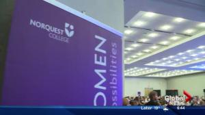 Raising funds for 1000 Women Child Care Centre at Edmonton's NorQuest College