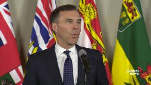 Morneau says government is looking at 'all tools' to get pipeline built