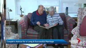 Elderly Toronto couple share their love story