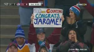 Jarome Iginla nets career goal number 600
