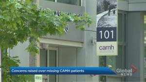 Why are patients going missing from CAMH?