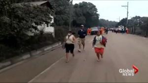 Guatemalans flee as Fuego volcano erupts