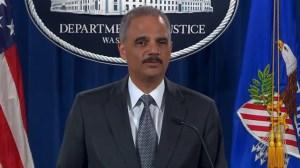 Attorney General Eric Holder says Justice Dept. will investigate Eric Garner's death