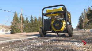 New Brunswick Good Samaritan returns stolen generator