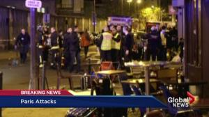At least 100 killed after several attacks in Paris