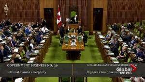 National climate emergency motion passes in House of Commons