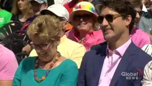 Justin Trudeau attends Toronto Pride church service