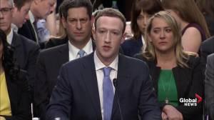 Facebook's Zuckerberg users own their own data: Zuckerberg
