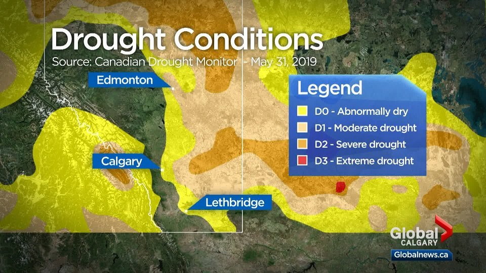 Alberta Weather Province Continues To Battle Drought As