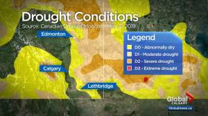 Drought concerns in southern Alberta
