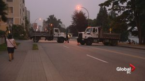 Trucks block West End roads ahead of Celebration of Light fireworks
