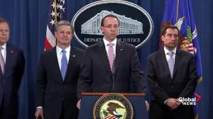 Rosenstein comments on Trump's possible intervention in Huawei case