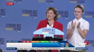 BC Election: With votes still being counted, Clark focuses on hope