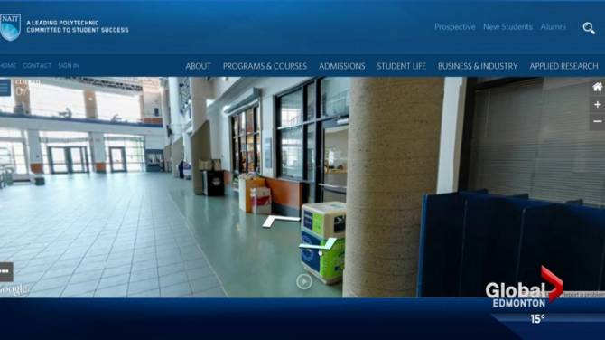 Explore The Halls Of NAIT With Google Business View