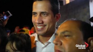 Juan Guaido begins journey home to Venezuela from Ecuador