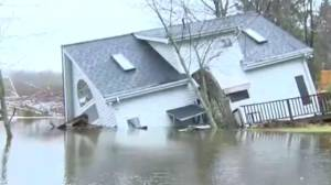 Ontario dealing with heavy rainfall on top of floods