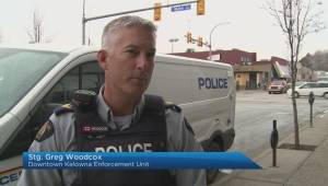 Almosts 100 arrests in downtown Kelowna in past year