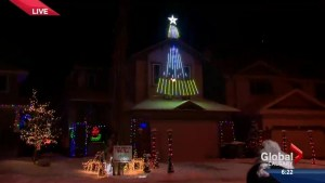 Star Wars themed display lights up Crestmont in Calgary