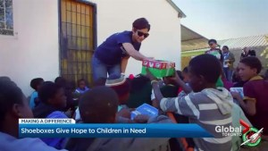 Making a Difference – A simple shoebox can make all the difference to a child in need