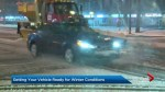 Winter weather drives the rush for snow tires