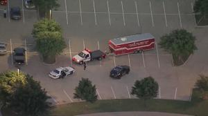 Raw Video: Shooting outside Muhammad cartoon contest in Texas
