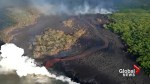Volcano scientists capture aerial video of Kilauea's lower East Rift Zone