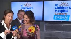 BC Children's Hospital Dream Lottery Draw