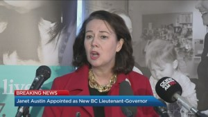Janet Austin appointed as new B.C. lieutenant-governor