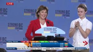 BC Election: Christy Clark claims popular vote win, says absentee ballots will secure her win