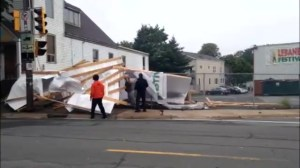 High winds knock down structures at Halifax Lebanese festival site
