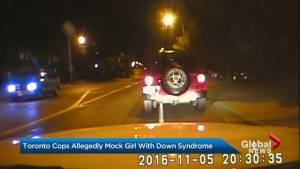 Toronto police officers allegedly mock girl with down syndrome