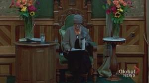 New Brunswick Tories promise fewer taxes, balanced budget in new throne speech